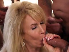 Erica Lauren - Four on One  Gangbang