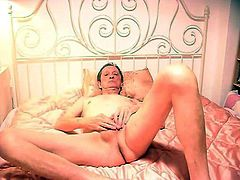 my body naked on the bed