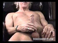 Mature Amateur Dale Beating Off