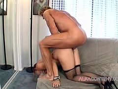 Horny School teacher gets her pussy and ass demolished