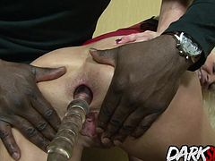 Four sexy sluts give wonderful blowjobs to four black guys Then they get their pussy and assholes fucked deep in many positions They get cum in their mouth