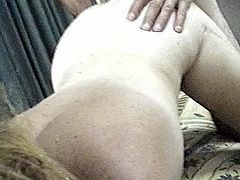 SHELLEY LICKS A CHICK OUT HUBBY SQUIRTS OVER HER BACK