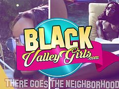 BlackValleyGirls - Hot Ebony Teens Dominate Petite Straight Girl