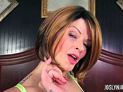 Joslyn James leaves her boyfriend for a new guy