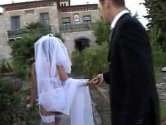 Katsuni's wedding day (with Rocco...)