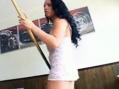 Laura Lion Fucked by Group of Black Cocks
