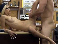 Boss Fucked Shop Staff Because Her Performance is not good Part I