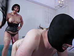 Asian women are known to the whole world for their submissive quiet temper, but this is not the case. This mad busty bitch, Mia Little, loves to scoff at men, humiliate, punish and fuck them. Relax and enjoy rough bdsm and punishment!