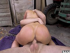 Kendra Lust is a legendary milf who is skilled at fucking in any position. She rides her man hard and fast. Her pussy is so wet now. Doesn't she look amazing in her western boots? That juicy ass needs to be fucked hard.