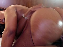 Enjoy this stunning ebony phat ass slut Southern Belle having a nice time with Ramon and his huge phat black monster of a cock in HD