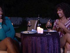 Misty Stone and Chanell Heart often get together to rant on about their