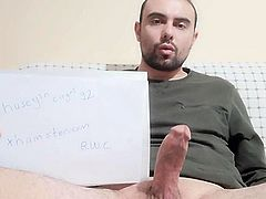 My cock is real!
