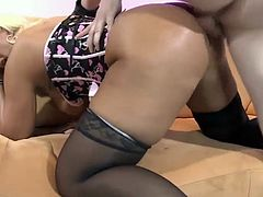 Mature German Babe Loves Anal