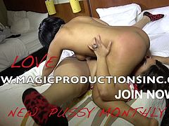DOLCE VANDELA IS SMOTHERED IN BLACK PUSSY , FT. PHARAOH BODY IN AN ASS WORSHIPPING SESSION FROM M.A.G.I.C. PRODUCTIONS .... CHECK OUT THE ENTIRE SCENE AT ==== WWW.MAGICPRODUCTIONSINC.COM