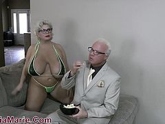Giant Tit & Fat Ass Whore Claudia Marie Fucked By Teen BBC