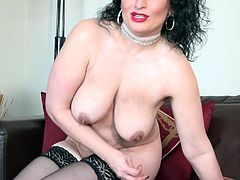 Jasmine is so beautiful and sexy that you will want to cum on her stunning natural titties. Her gentle encouraging smile serves as a call to action, so do not think longer, pull your cock out of your pants and join!