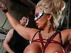 Alura Jenson found herself bound by Keith Grimm who wanted to dominate her. But it seems that shes resistant to domination
